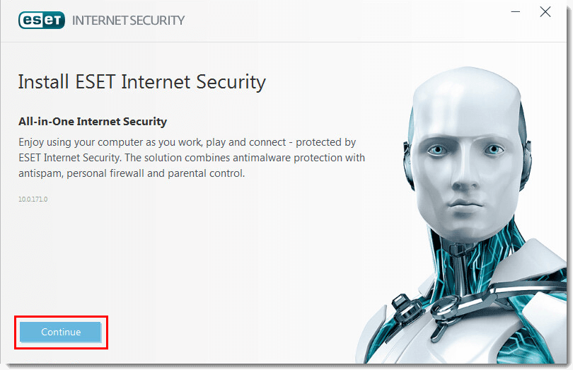 Install ESET Internet Security